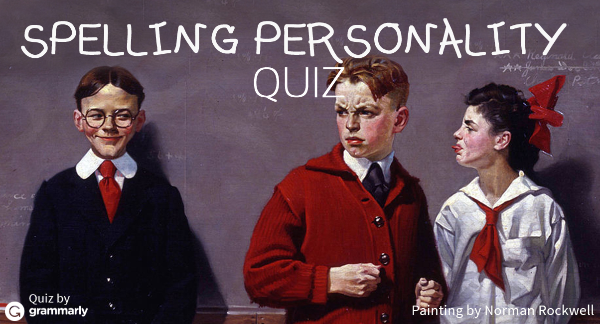 #SpellingBee Personality Quiz Cover