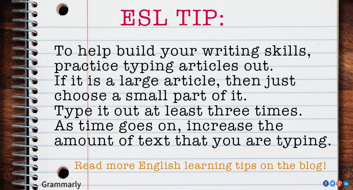 essay writing techniques esl Esl essays take extra tlc to put together teach these 7 good writing practices to your esl students, and writing strong, meaningful essays will become a habit.