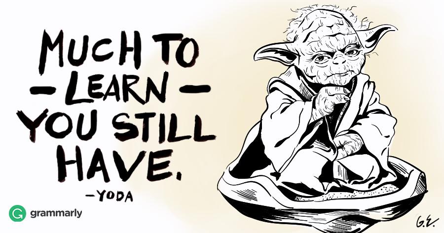 Speak Like Yoda You Can