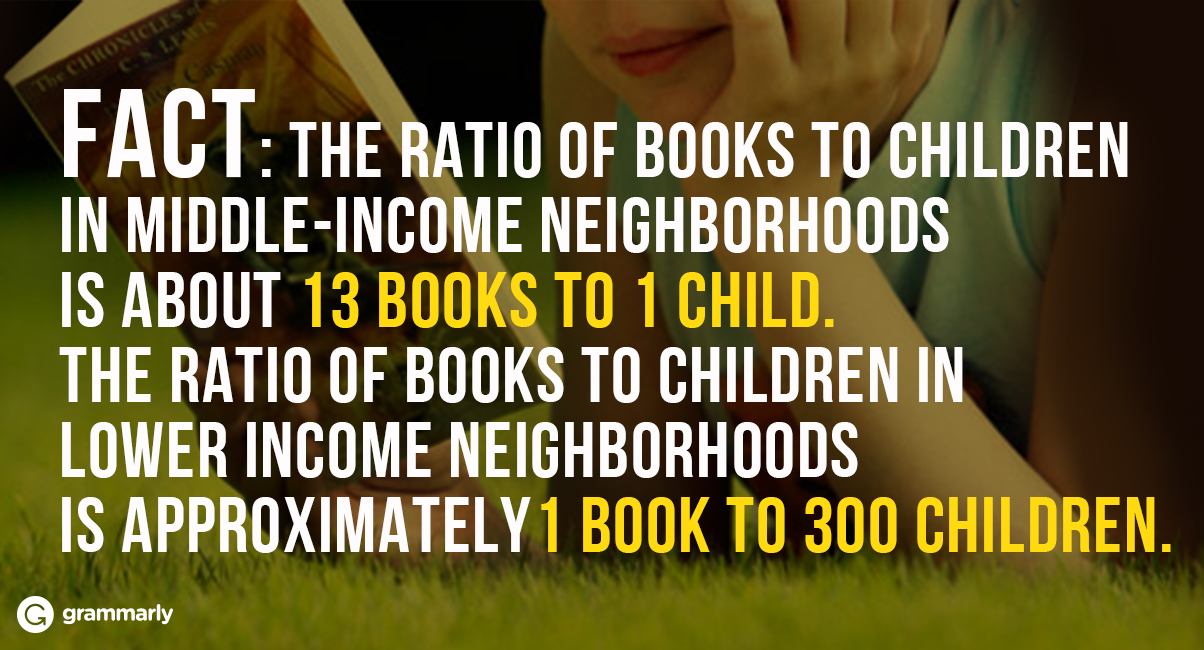 The Importance of Providing Books in High Poverty Classrooms