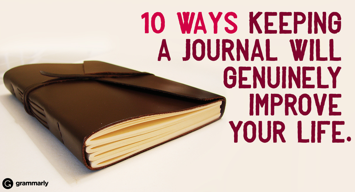 how to keep a writing journal