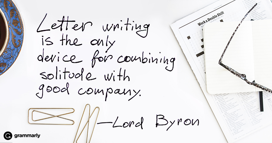 6 Ways to Write Better Letters | Grammarly Blog