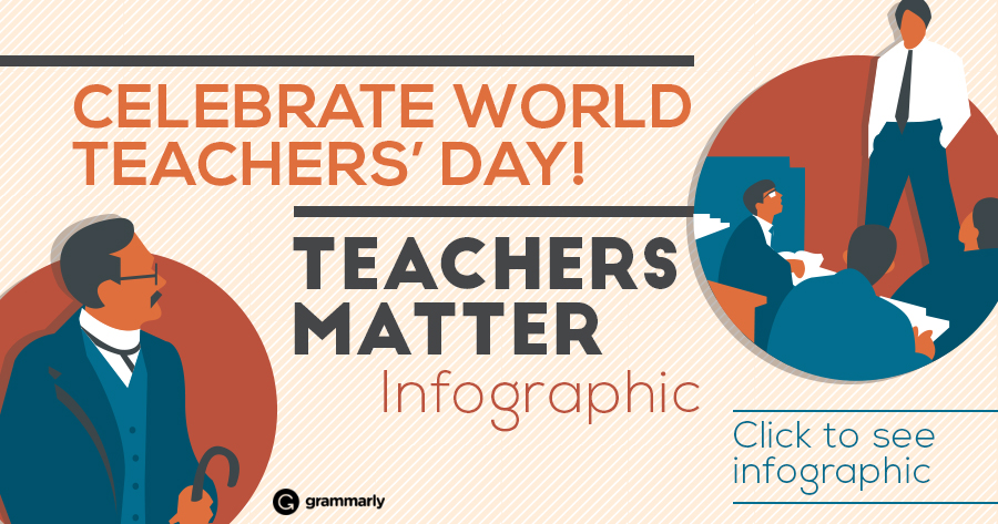 Celebrate Your Favorite Teacher on World Teachers' Day