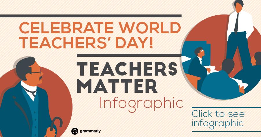 Celebrate Your Favorite Teacher on World Teachers' Day