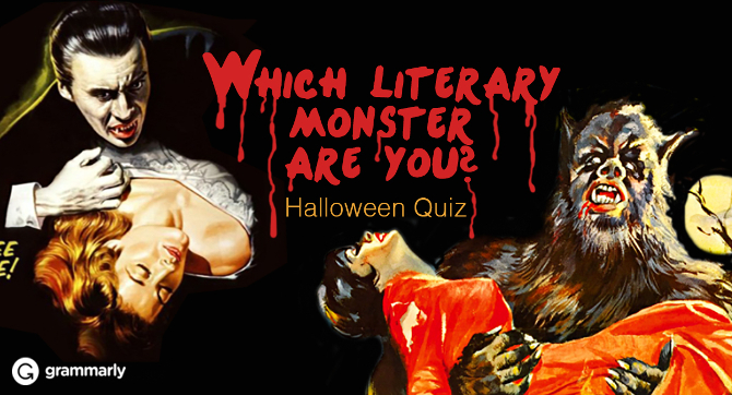Which Literary Monster Are You? Halloween Quiz image