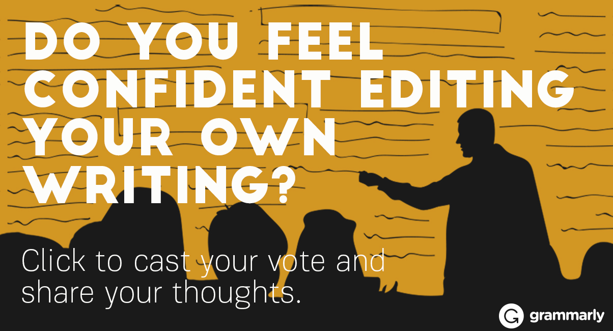 Are you a confident editor? Tell us image