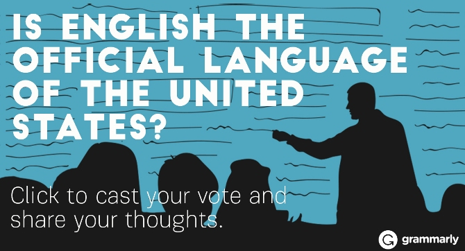 What is the official language of the U.S.? Image