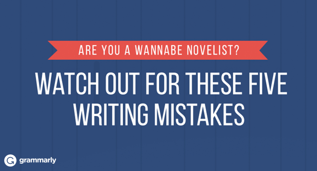 Five Mistakes To Avoid in Your NaNoWriMo Novel
