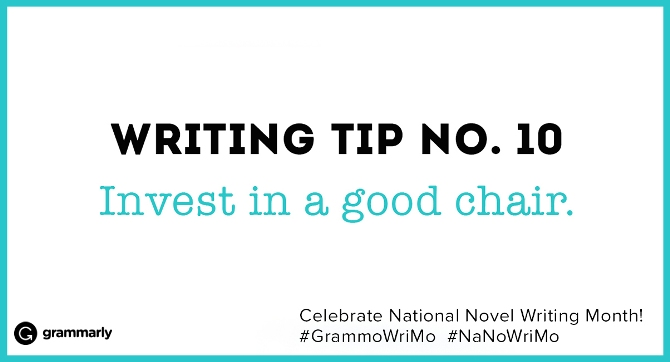 Writing Tip no. 10