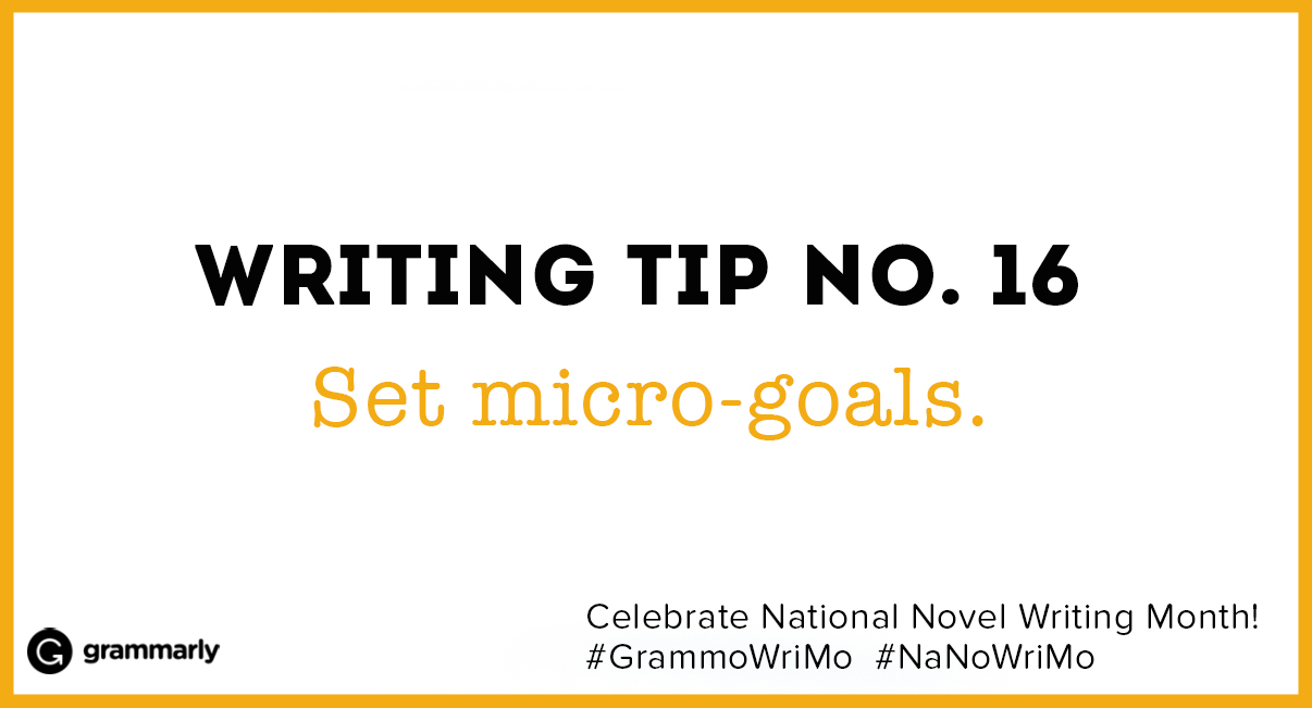 Writing Tip no. 16