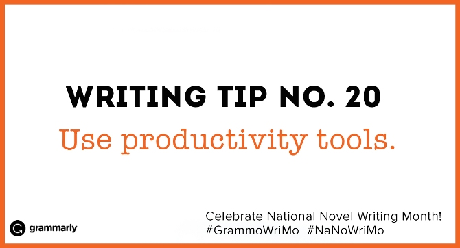 Writing Tip no. 20