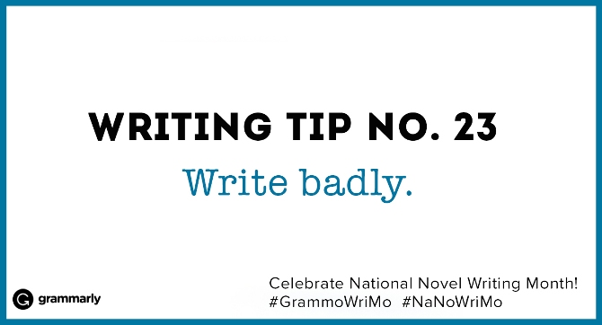 Writing Tip no. 23