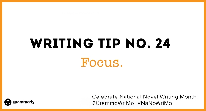 Writing Tip no. 24