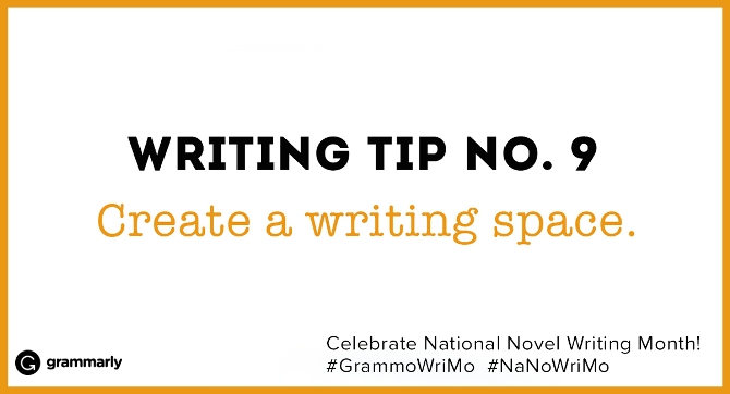 Writing Tip no. 9