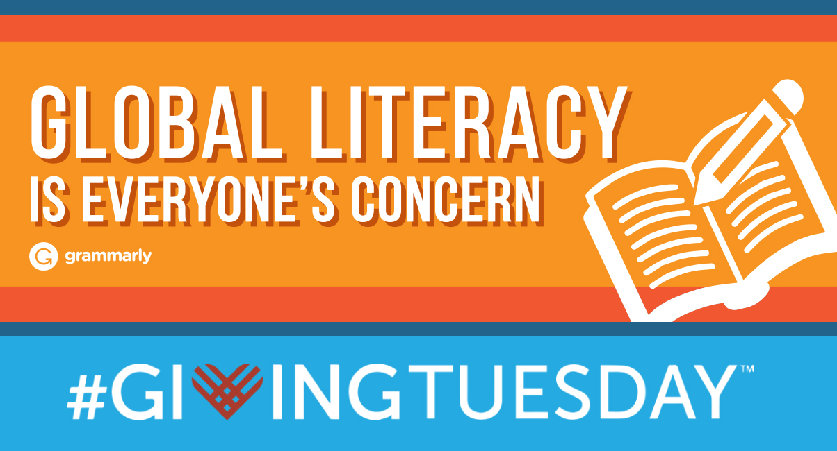 Help Fight Illiteracy on #GivingTuesday