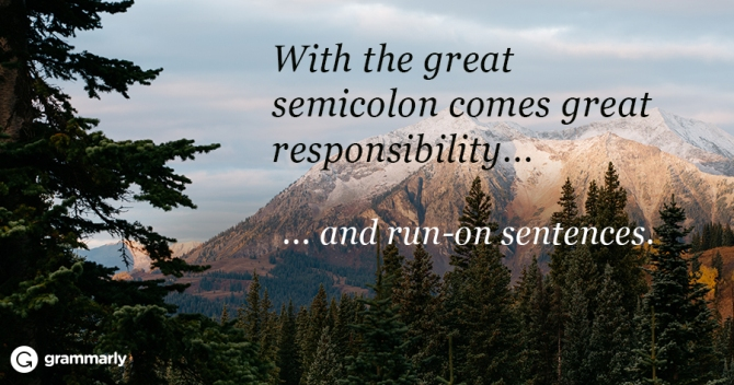 The Pros and Cons of Using Semicolons