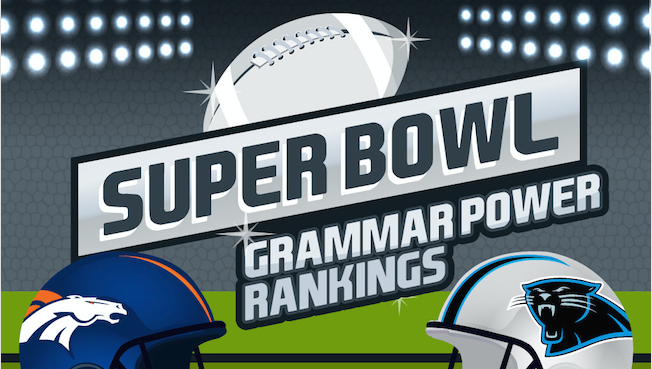 Panthers Defeat Broncos in Super Bowl … of Grammar
