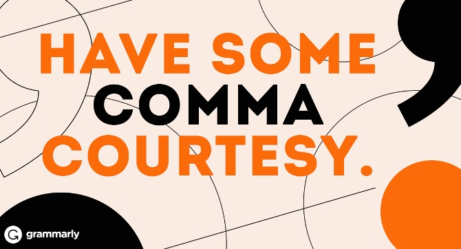 Comma Rules for Business Emails