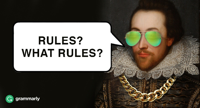 6 times authors broke the rules grammarly blog