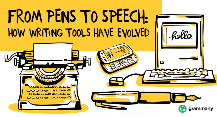 From Pens to Speech: How Writing Tools Have Evolved