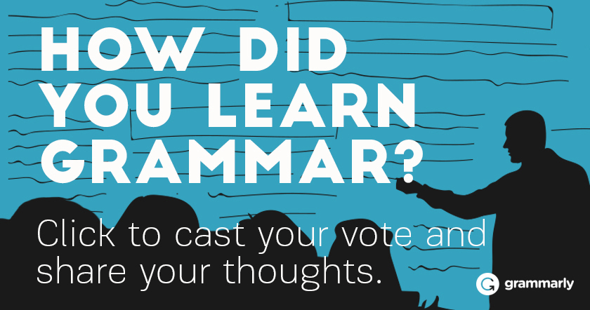 How did you learn grammar?