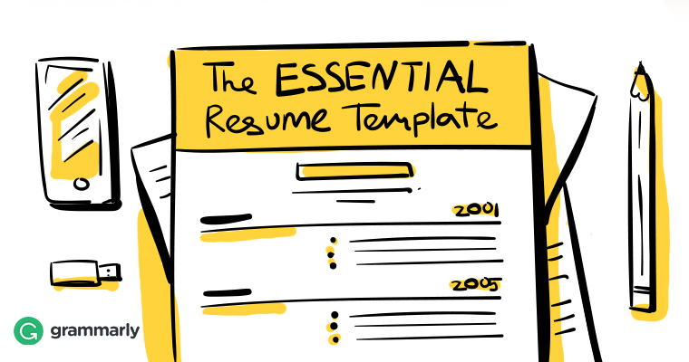 The ESSENTIAL Resume Template