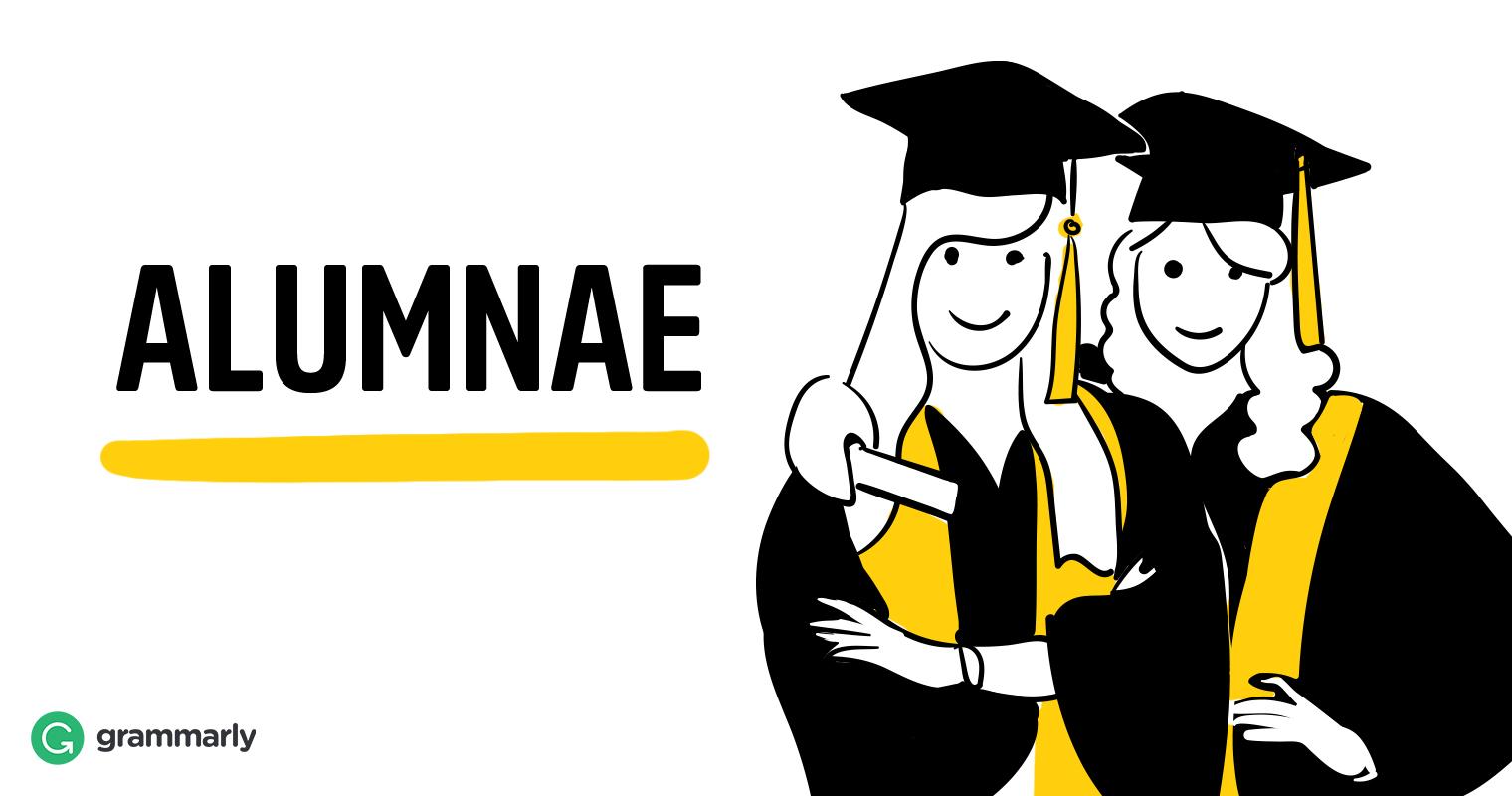 Alumnae visual definition