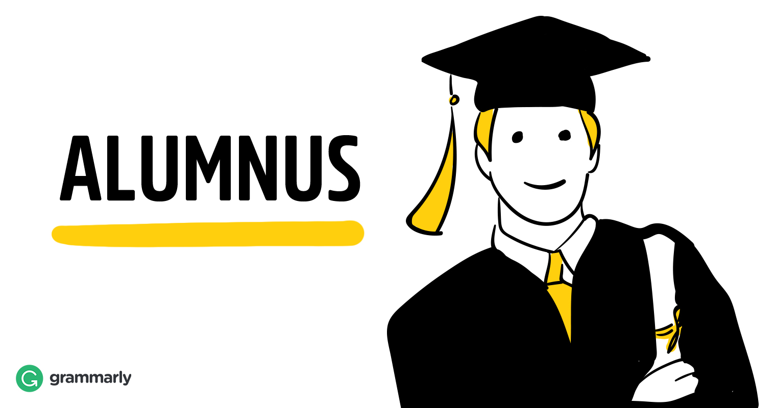 Alumnus visual definition