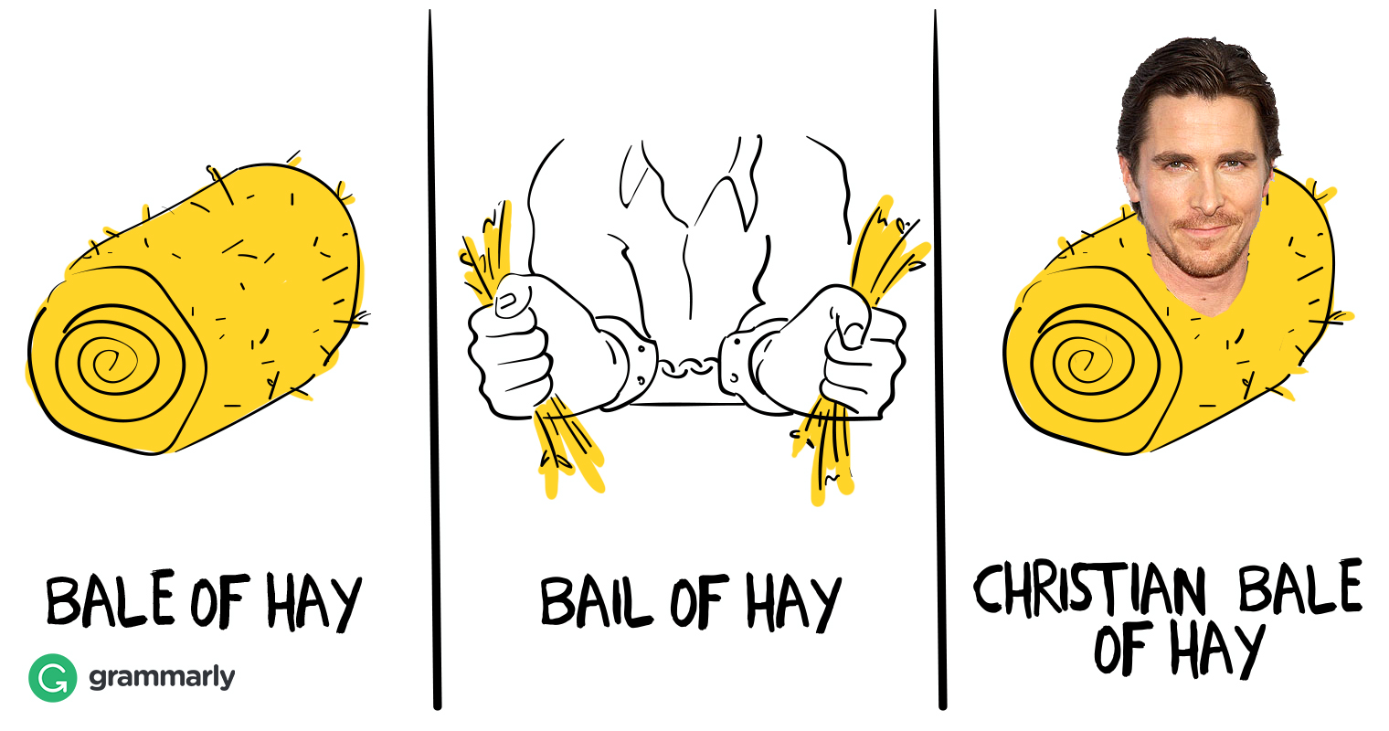 Bale of Hay Bail of Hay Christian Bale of Hay