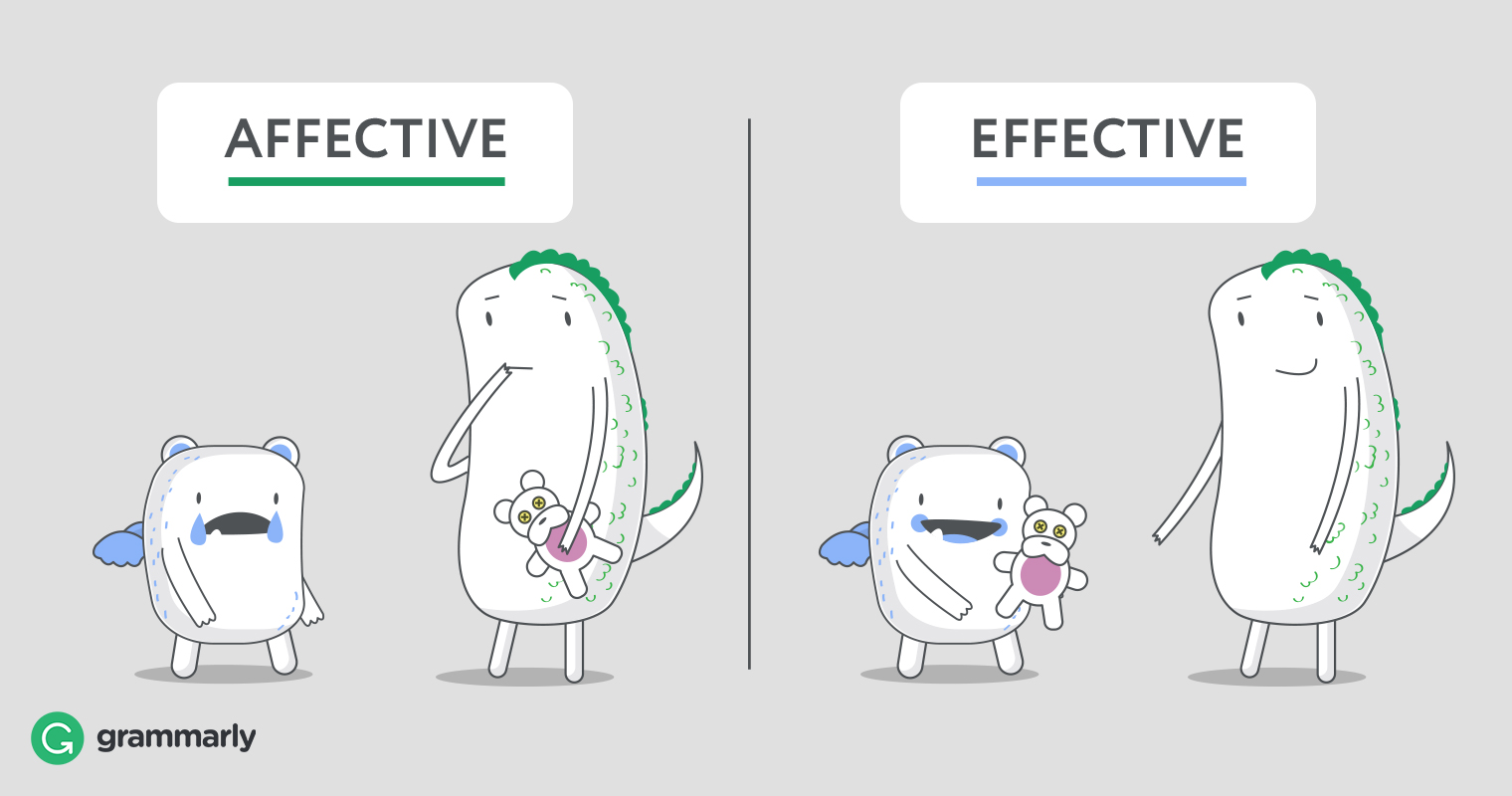 Affective vs. Effective: What's the Difference?