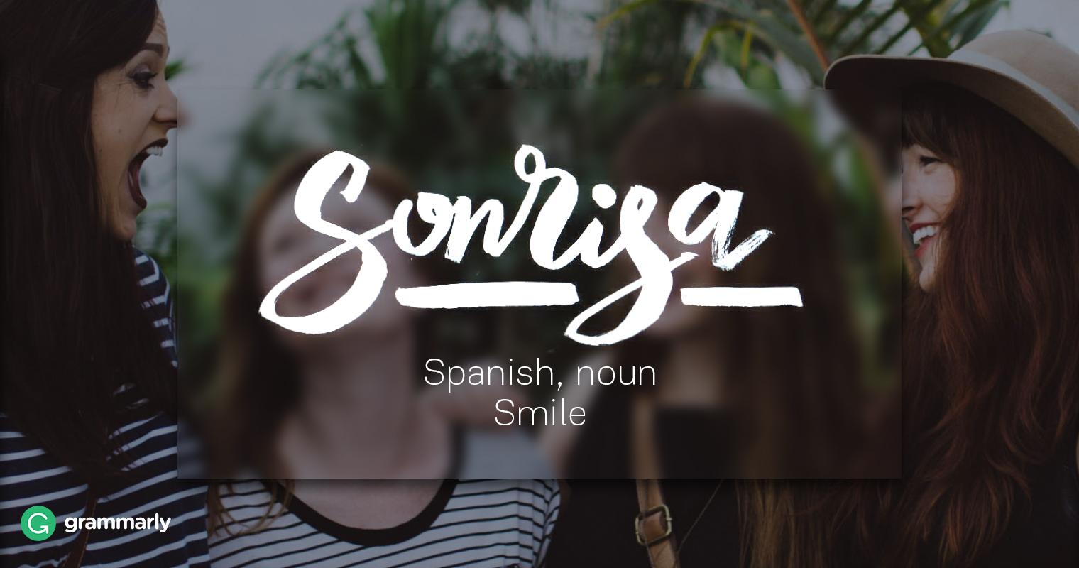 Sonrisa Definition