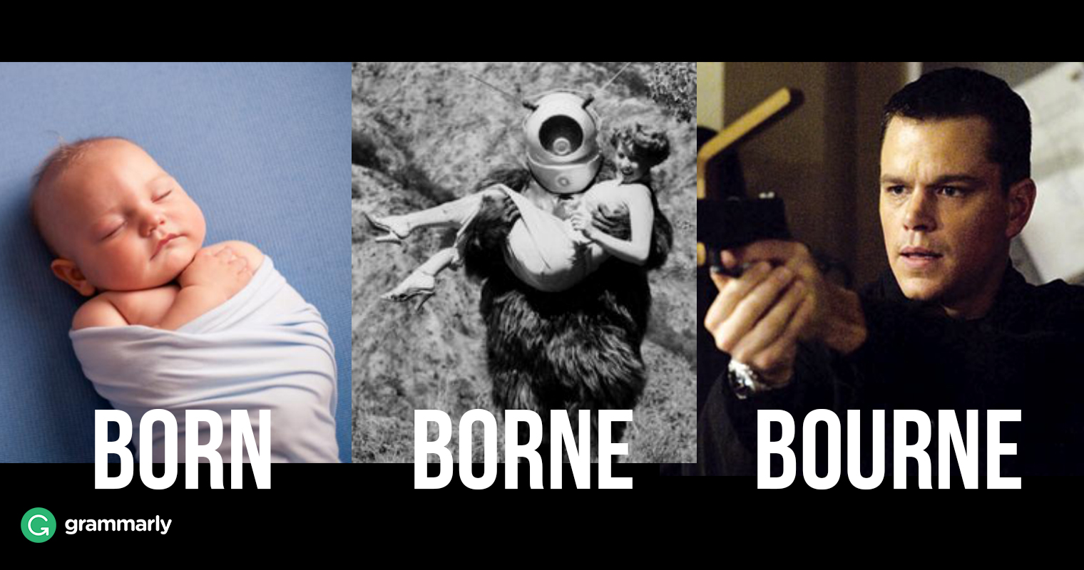 Born vs. Borne image