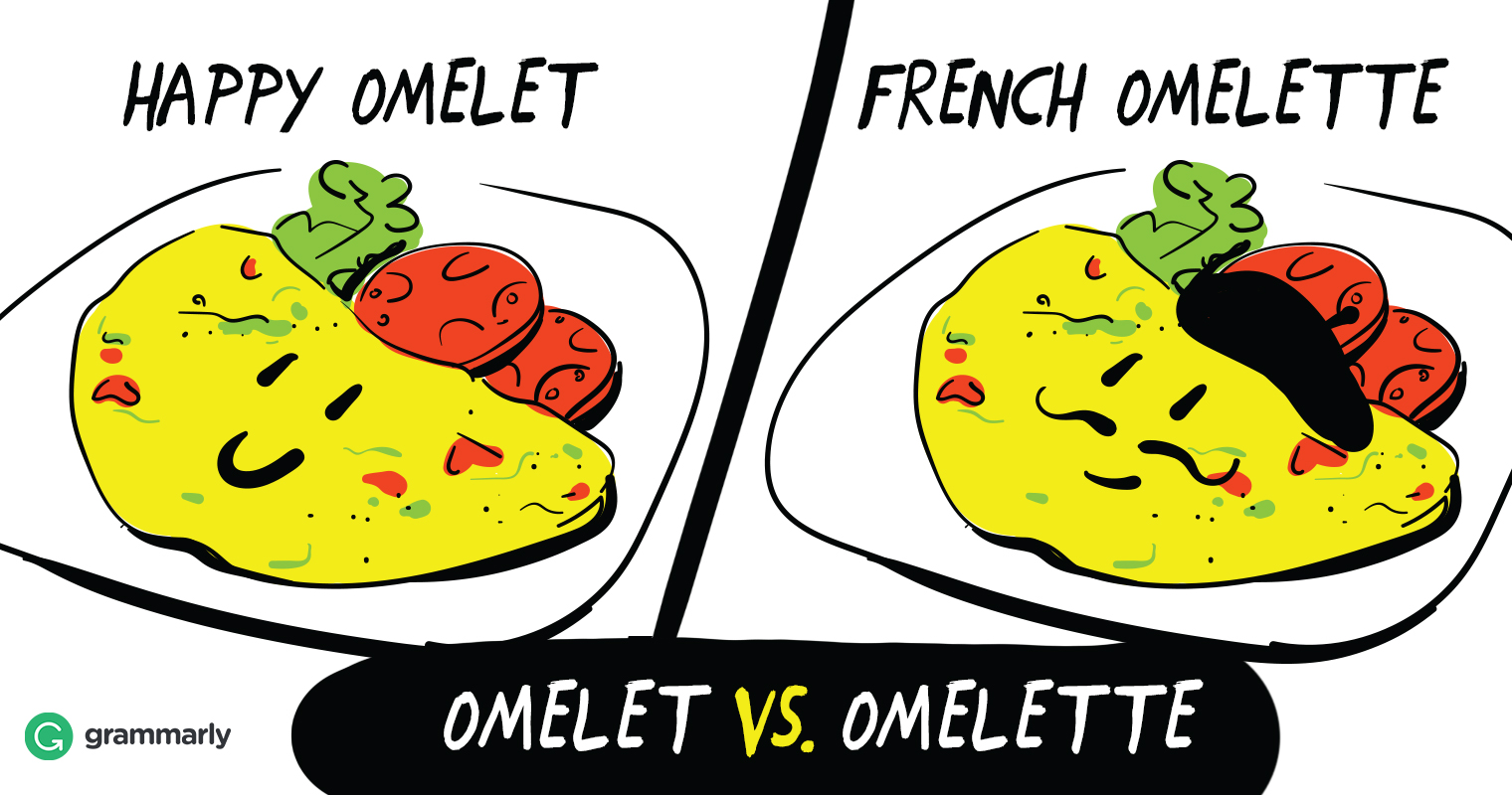 Is It Omelet or Omelette?
