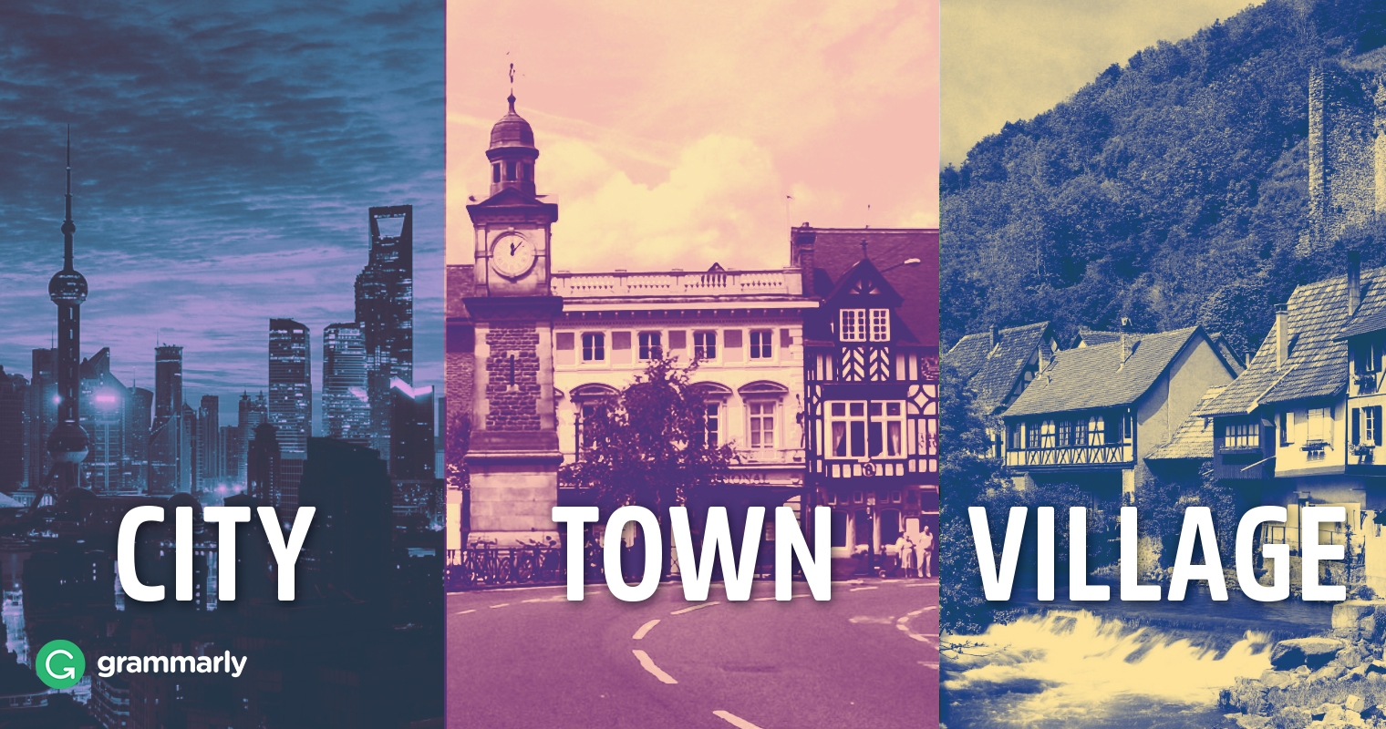 City, Town, and Village–What's the Difference? image
