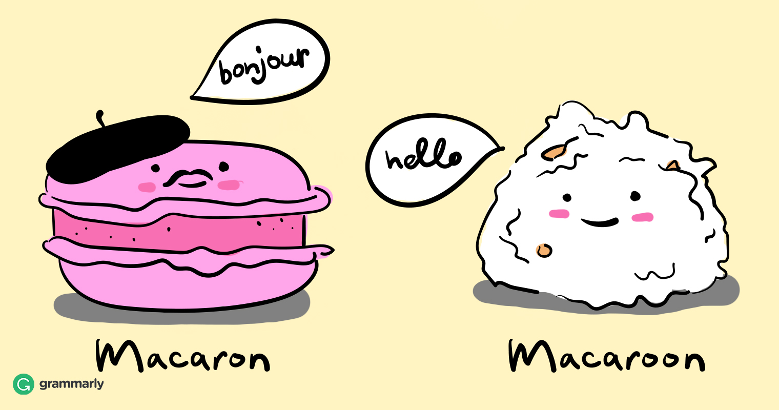 Macaron vs. Macaroon: A Discussion of Confusing Food Names image
