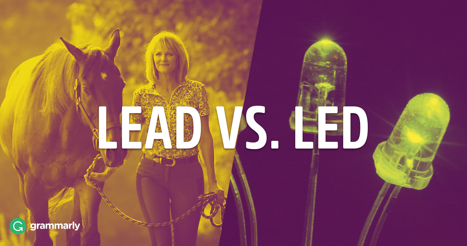 Led or Lead—The Past Tense of Lead?