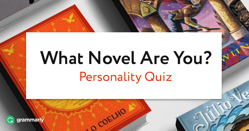 What Novel Are You? The Quiz