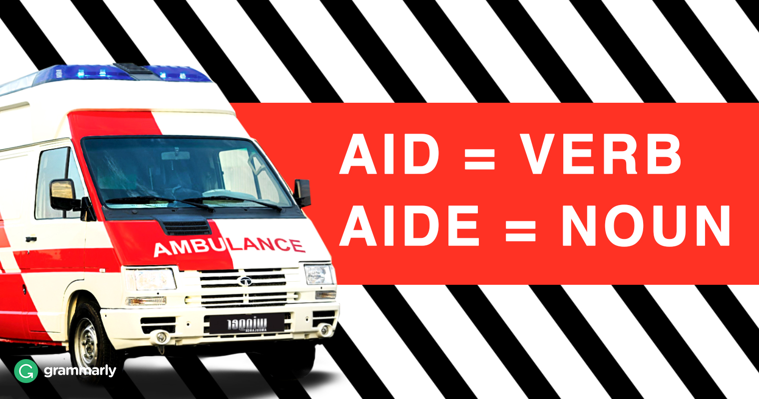 Aid vs. Aide—What Is the Difference image