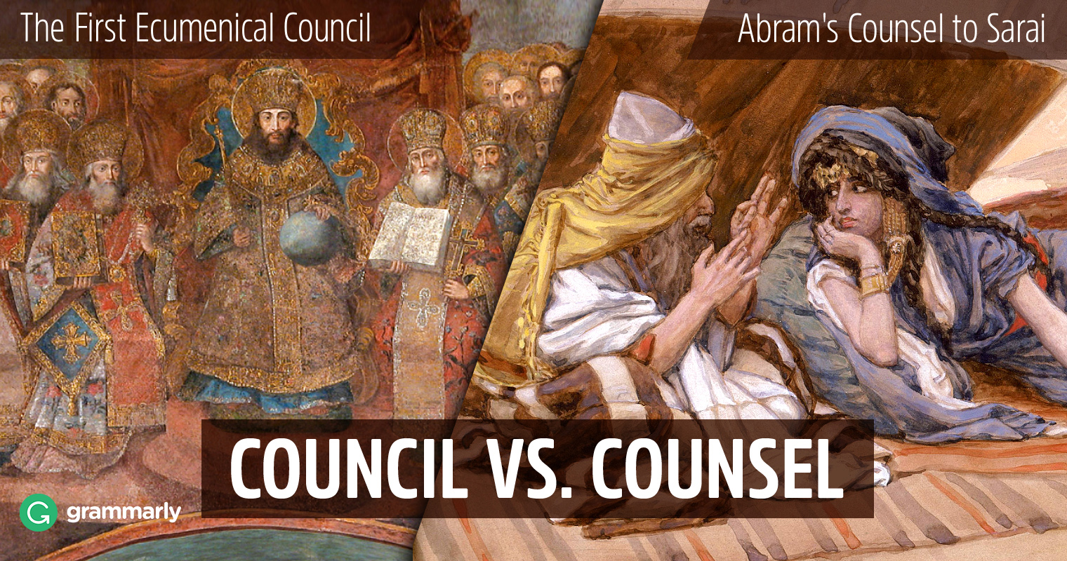 Council vs. Counsel—What's the Difference?