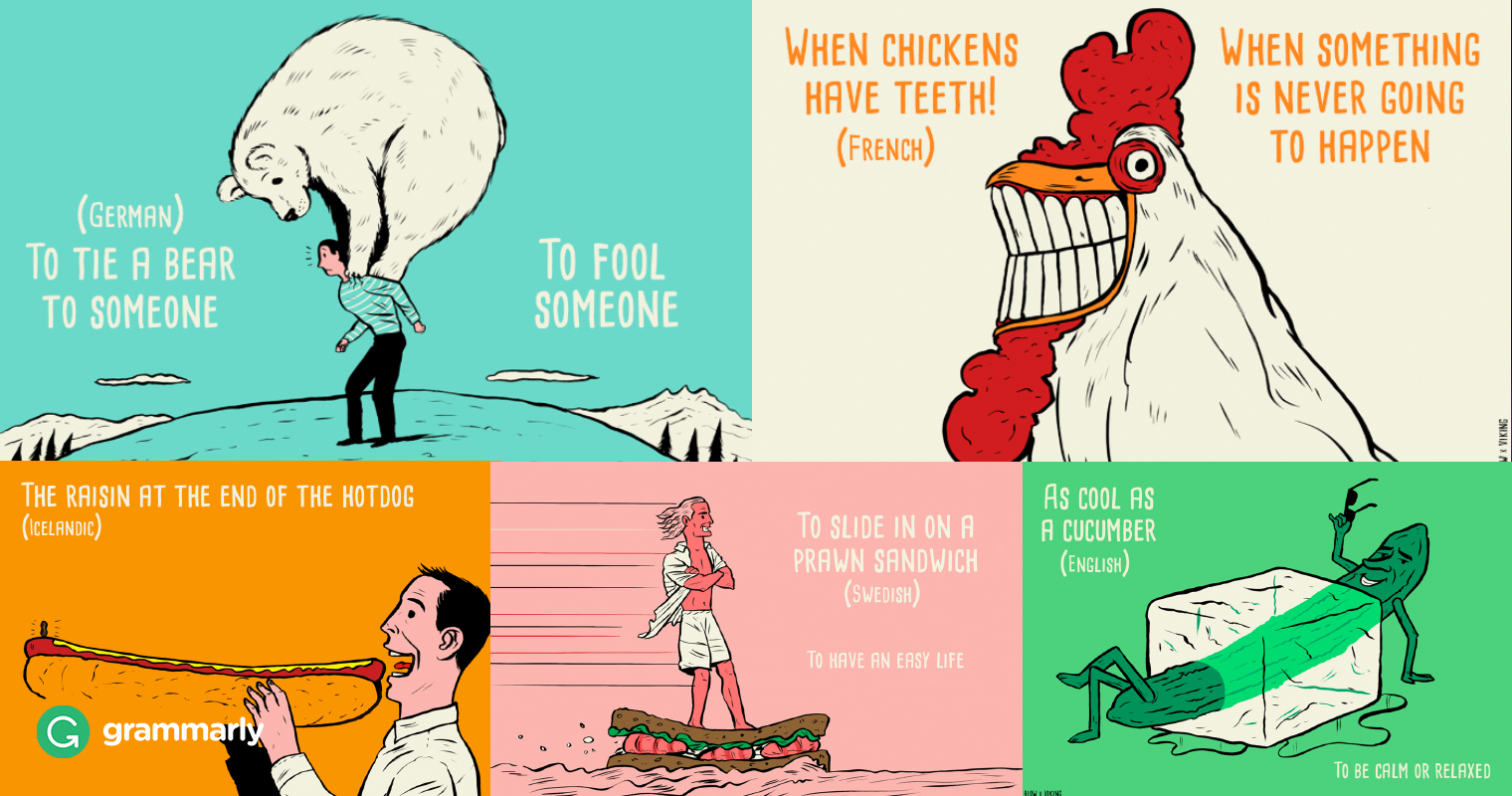 Lost in Translation: Five Foreign Idioms in English image