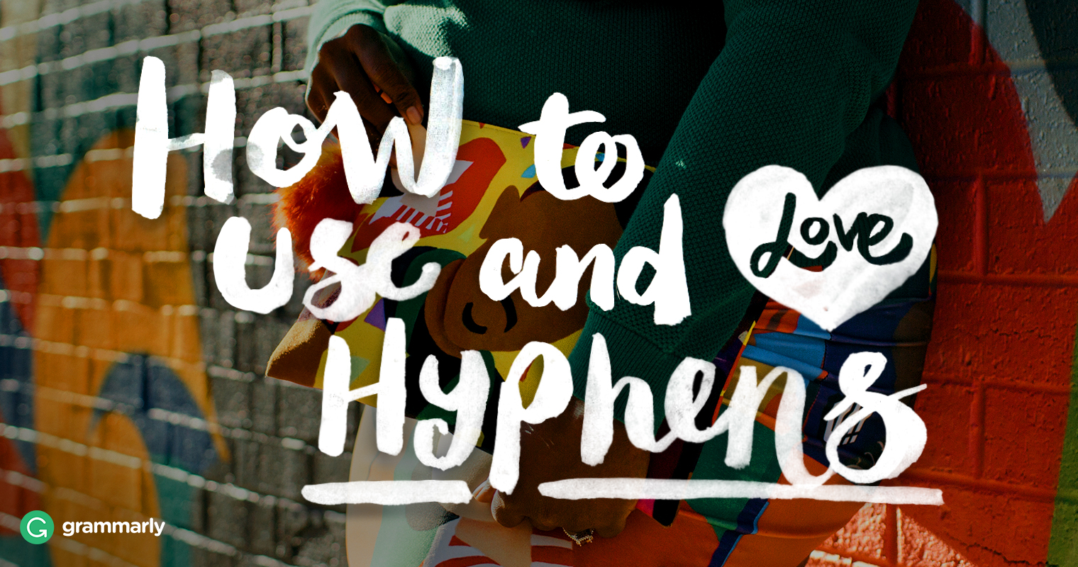 Hyphen Usage—Rules and Examples image