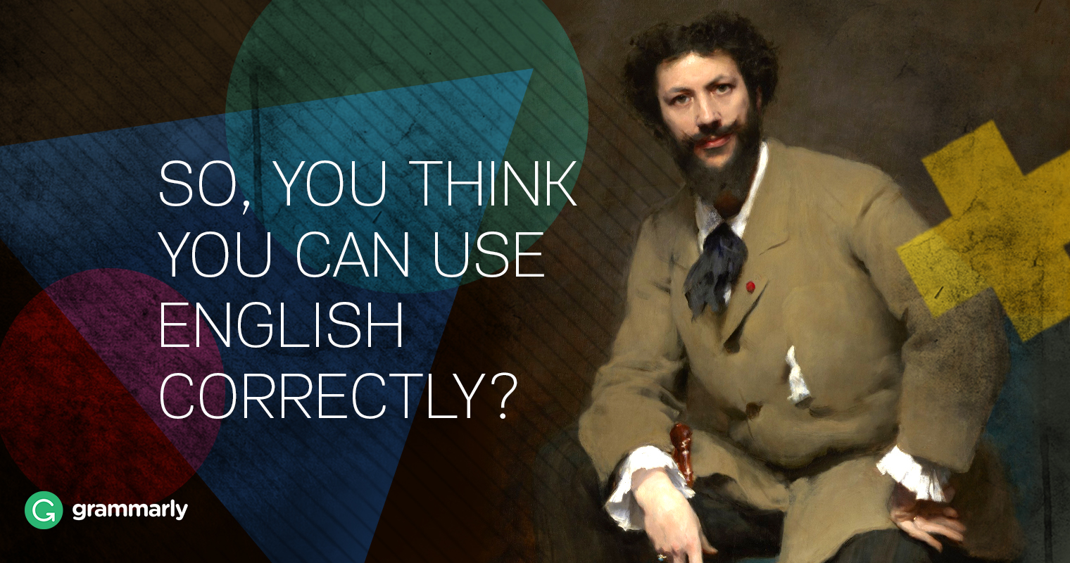 "Oxford Quiz Tells You Whether You Use English ""Correctly"" Image"