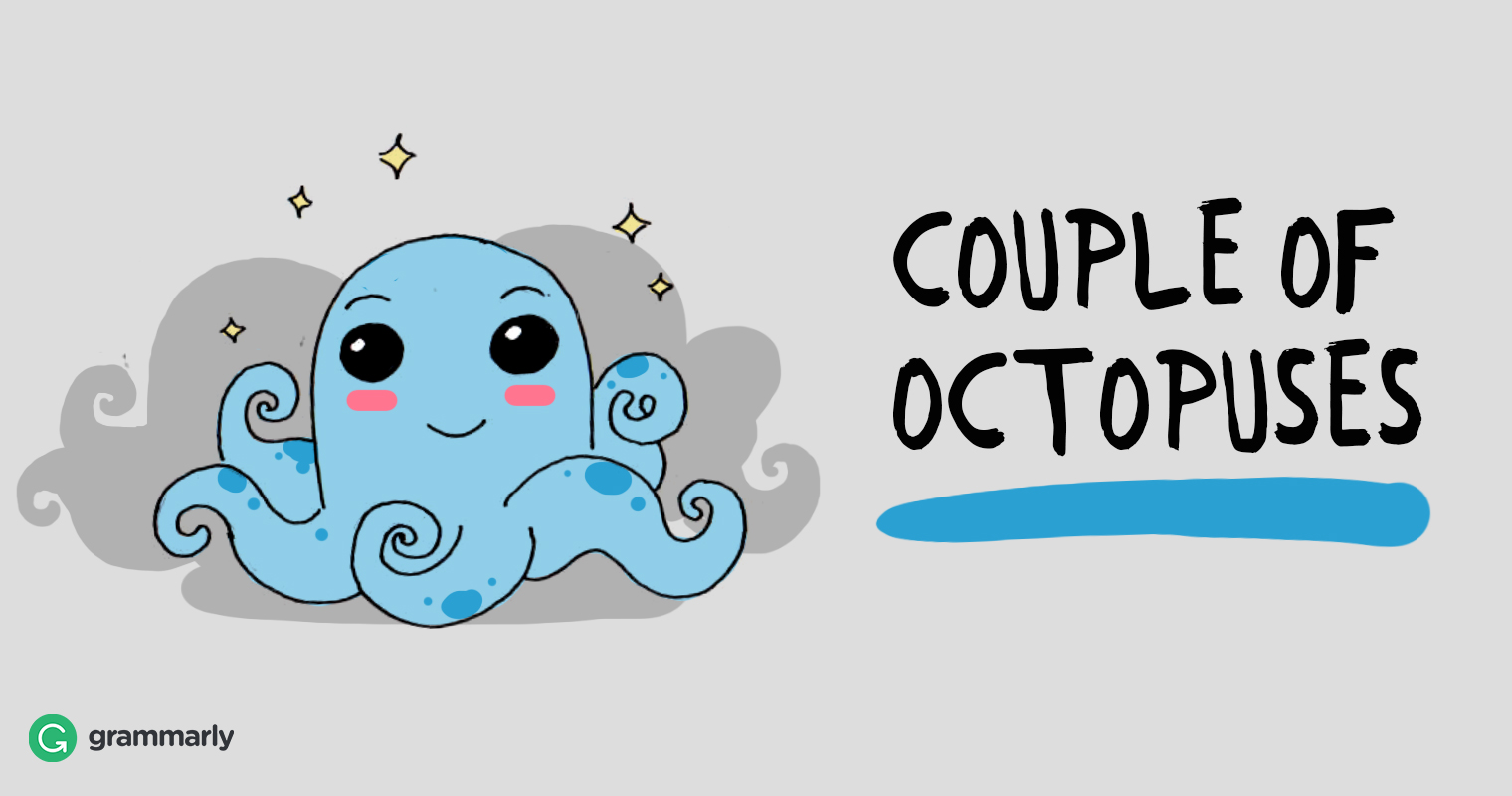 The Plural of Octopus: Octopi or Octopuses?