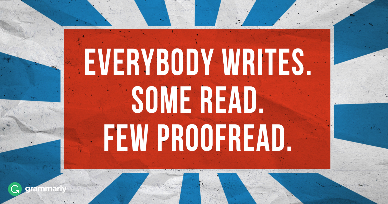 5 Basic Proofreading Habits for a More Productive 2017