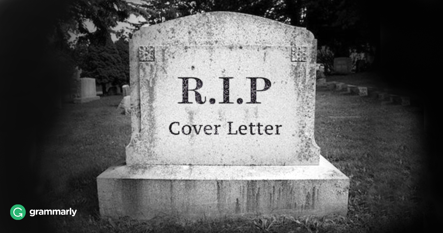 is the cover letter dead. Resume Example. Resume CV Cover Letter