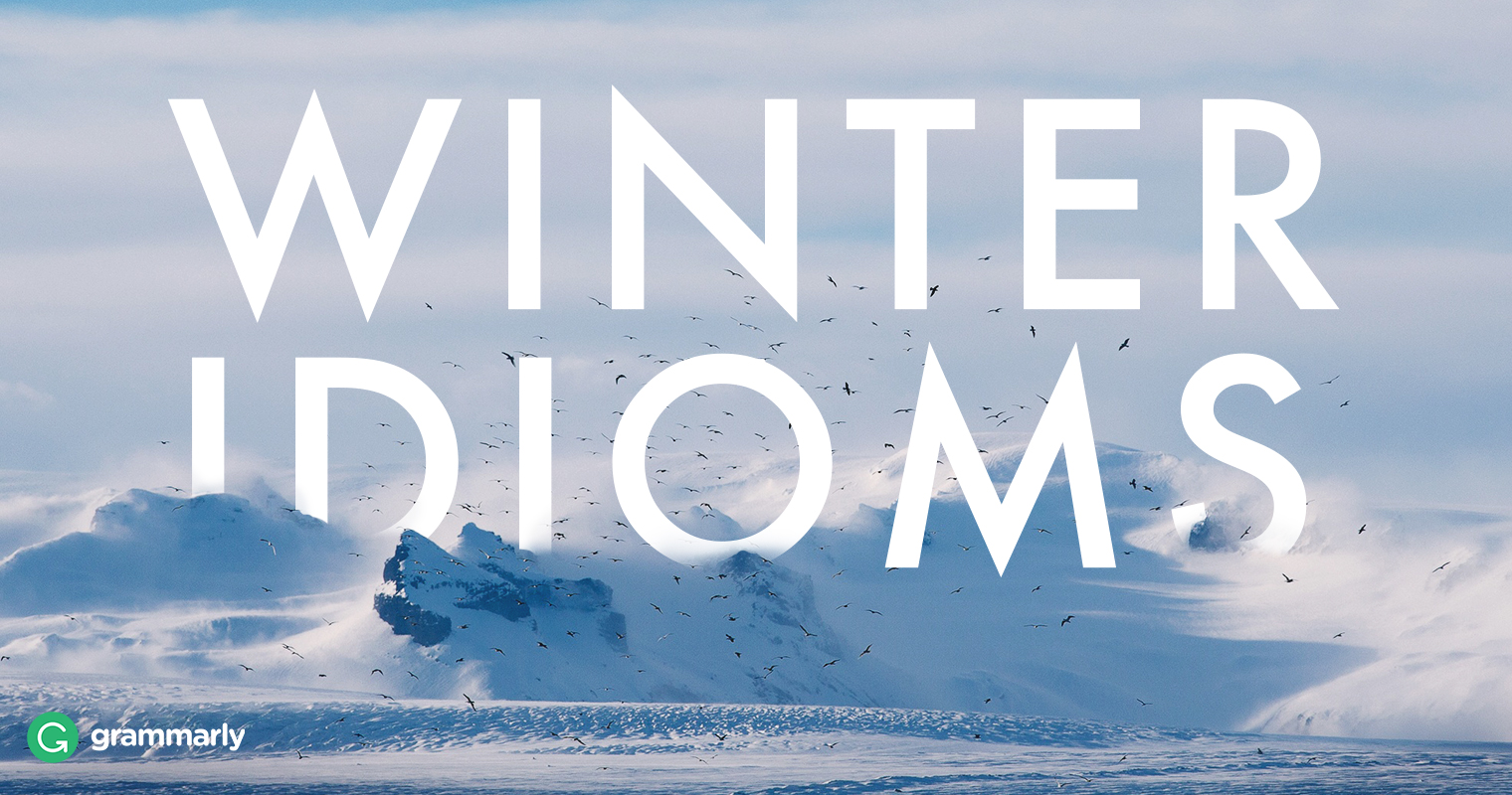 8 More Wondrous Winter Idioms image