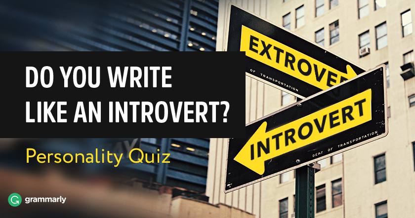 Do You Write Like an Introvert Quiz