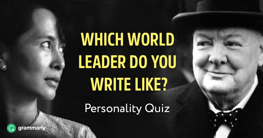 Which World Leader Do You Write Like Quiz