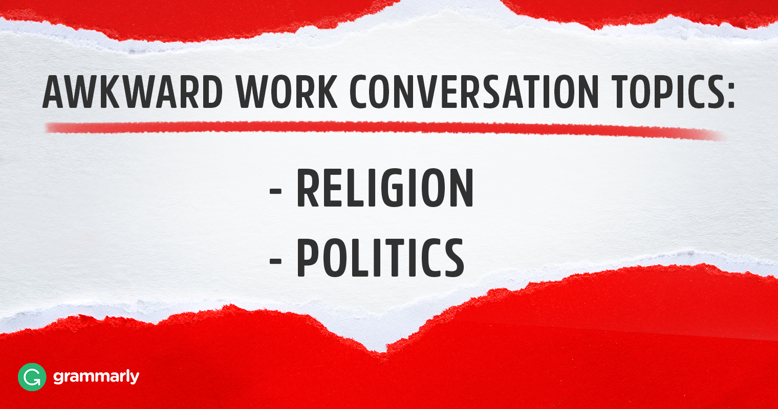 How to Navigate Political Talk at Work image