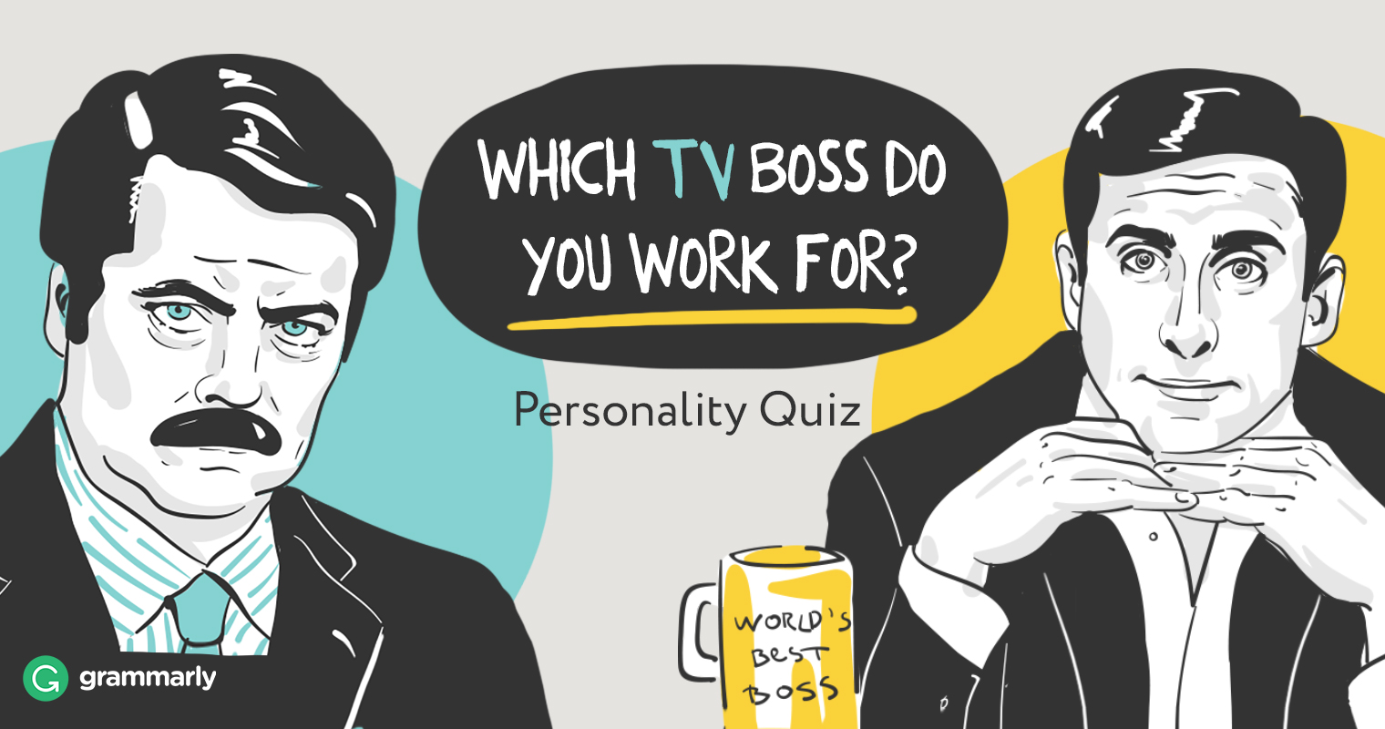 Which TV Boss Do You Work For?